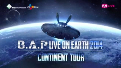A B.A.P világ körüli turnéra indul