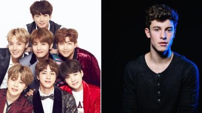 A BTS teljesen levette a lábáról Shawn Mendest