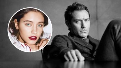A Burberry reklámarca lett Jude Law lánya
