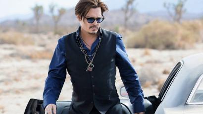 A Dior kiáll Johnny Depp mellett