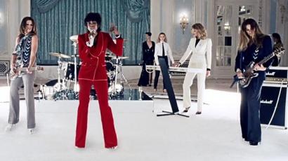 A Duran Duran szupermodell-verzióban