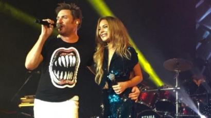 A Duran Durannal lépett fel Lindsay Lohan
