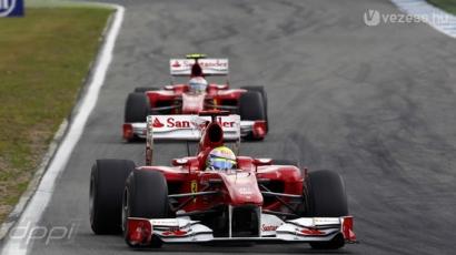 A Ferrari bukhatja a vb-címet