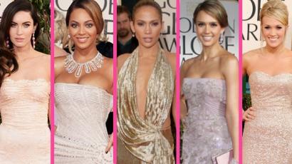 A Golden Globe történelmének legszebb ruhái
