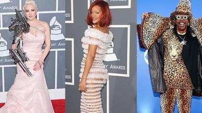 A Grammy-történelem legrosszabb ruhái