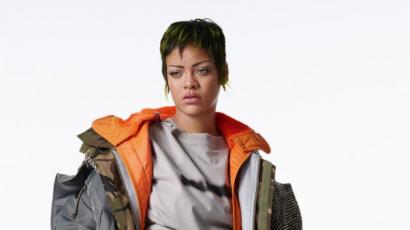 A Jóbarátok Joey-jához hasonlították a fanok Rihanna legutóbbi divatfotóját