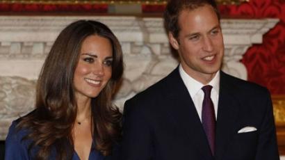 A hercegi pár örökbefogadott