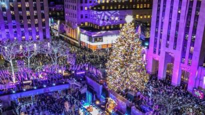 Ez a fa a legtöbbet fotózott karácsonyi látványosság