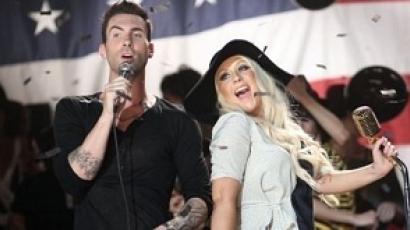 A Maroon 5 frontembere megvédte Xtinát