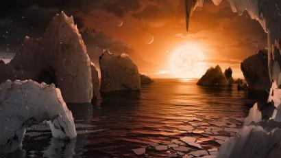 A NASA felfedezett egy hét bolygóból álló naprendszert