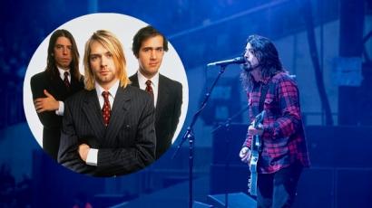 A Nirvana feloszlása óta először játszotta ezt a dalt Dave Grohl