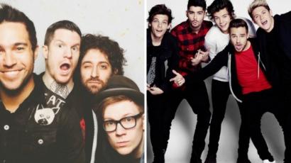 A One Directionnek nem kellettek a Fall Out Boy dalai