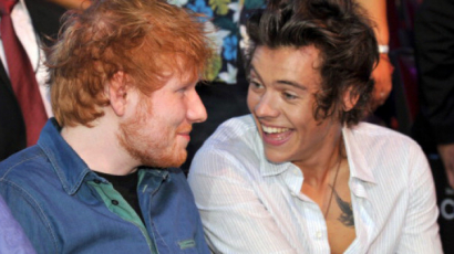 A rajongók azt hiszik, Harry Styles ihlette Ed Sheeran New Man dalát