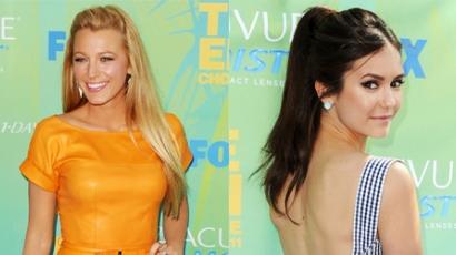 A Teen Choice Awards legszebb ruhái