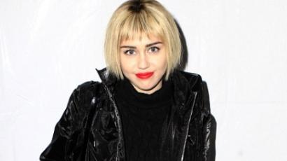A Télapónak riszált Miley Cyrus