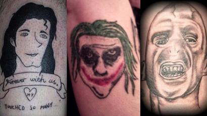 A tíz legrosszabb rajongói tetoválás II.