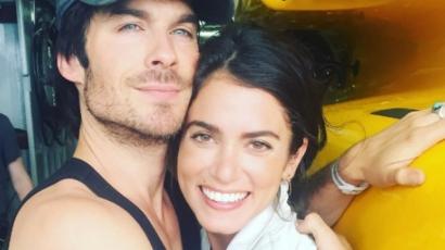A válásról szóló pletykák ellenére dúl a szerelem Ian Somerhalder és Nikki Reed között