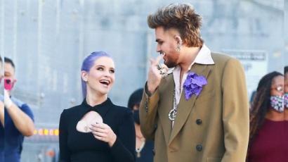 Adam Lambert és Kelly Osbourne új projekten dolgozik – fotók!