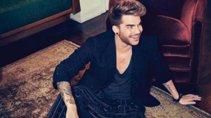 """Adam Lambert: """"Ha magadon tudsz nevetni, tiéd lehet a világ"""""""