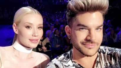 Adam Lambert is panaszkodott Iggy Azalea viselkedésére