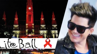 Adam Lambert nyitja a 2013-as Life Ballt
