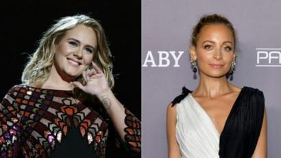 Adele vicces prankvideóval köszöntötte Nicole Richie-t
