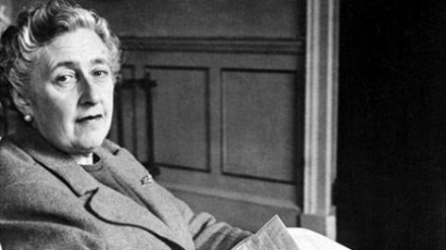 Agatha Christie-t bronzba öntik