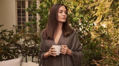 Akár egy istennő! Gyönyörű fotósorozat készült Angelina Jolie-ról