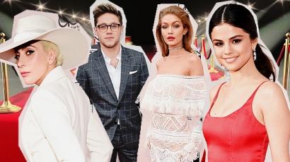American Music Awards: vörös szőnyeg