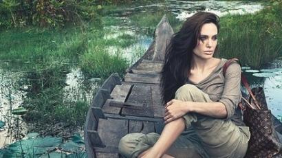 Angelina Jolie a Louis Vuitton kampányában