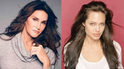 Angelina Jolie inspirálja Caitlyn Jenner megjelenését