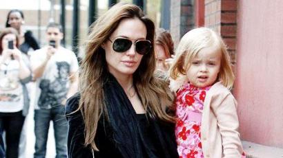 Angelina Jolie kislánya első mozis szerepére készül