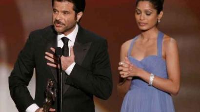 Anil Kapoor is dicséri Freida Pintót