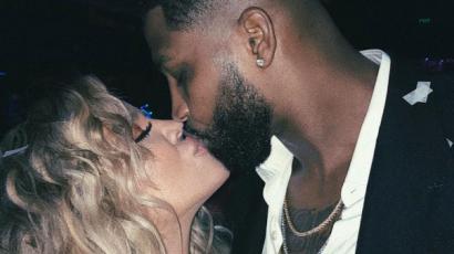Aranyos posztban áradozott kedveséről a várandós Khloé Kardashian