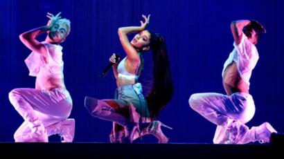 Ariana Grande elbúcsúzott Európától