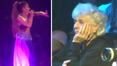 Ariana Grande kiborította a nagymamáját, amikor a szexről énekelt – videó