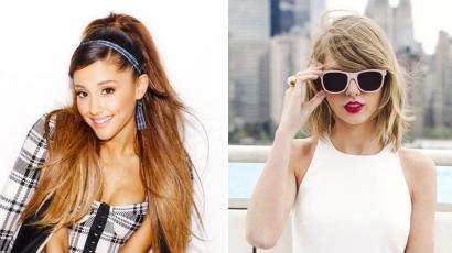 Ariana Grande lekörözte Taylor Swiftet