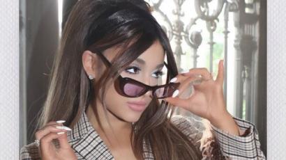Ariana Grande reagált hasonmására