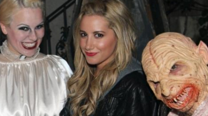 Ashley Tisdale már készül Halloweenre