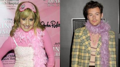 Ashley Tisdale önmagához hasonlította Harry Stylest