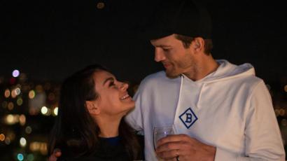 Ashton Kutcher és Mila Kunis egy reklámforgatás miatt örvendezett