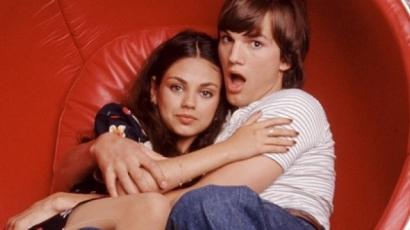 Ashton Kutcher és Mila Kunis kétéves kislánya három nyelven beszél