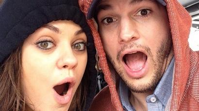 Ashton Kutcher megerősítette a pletykákat: valóban kisfiút várnak Mila Kunisszal