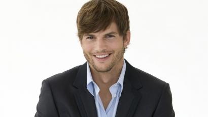 Ashton Kutcher megmutatta a kislányát?
