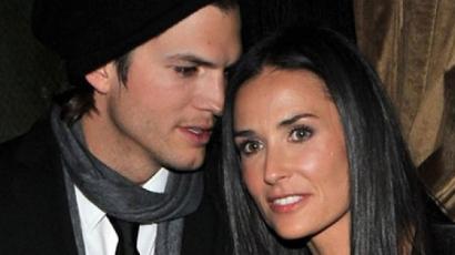 Ashton Kutcher óvatosan beszólt Demi Moore-nak