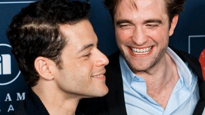 Az Alkonyat után is megmaradt a barátság: Robert Pattinson és Rami Malek együtt lógott