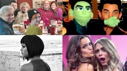 Az elmúlt hét legnépszerűbb celebfotói