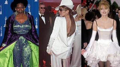 Az Oscar-történelem legrosszabb ruhái