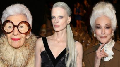 Az ősz árnyalatai: női hírességek természetes hajjal