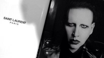 Az Yves Saint Laurent választása: Marilyn Manson